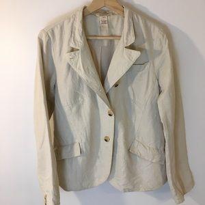 Sundance Linen - Cotton Blend Blazer